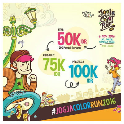 Jogja Color Run 2016