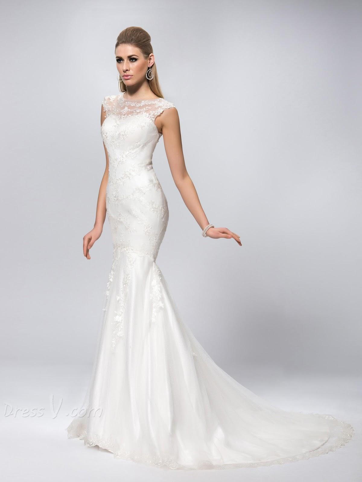 Mermaid Tail Wedding Dress Ideas ff7cd65502d0