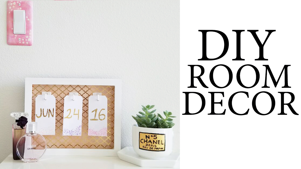 Diy tumblr pinterest inspired room desk decor for Easy diy room decor pinterest