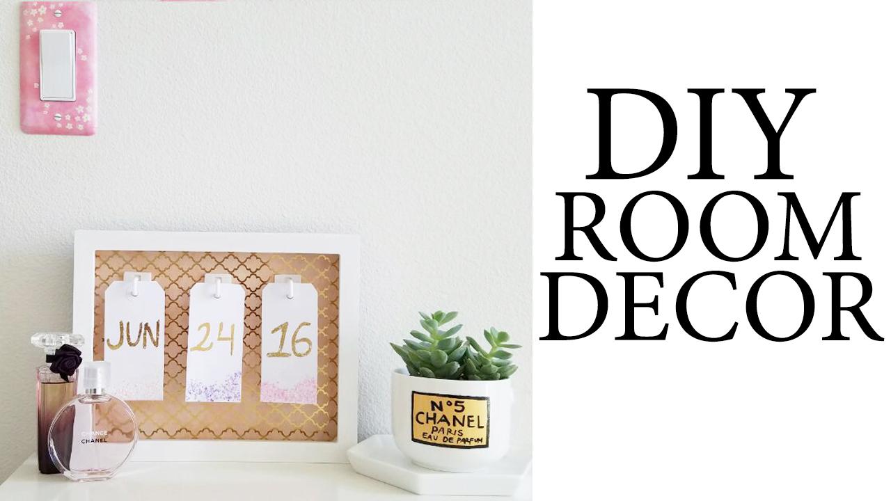 DIY Tumblr & Pinterest Inspired Room/Desk Decor ... on Room Decor Tumblr id=75634