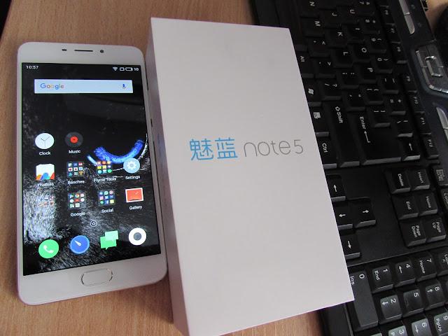 Meizu M5 Note and Box