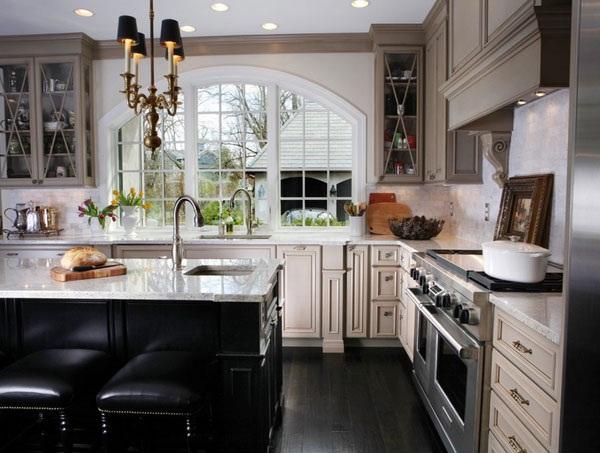 Classy Kitchen Windows Ideas 14