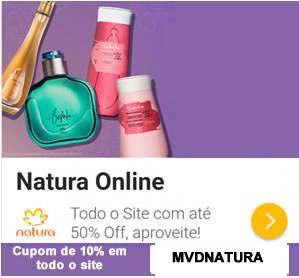 Cupom Natura