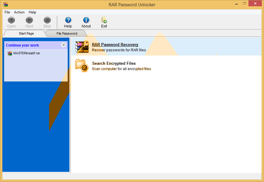 RAR Password Unlocker 5.0 Full Crack   MASTERkreatif