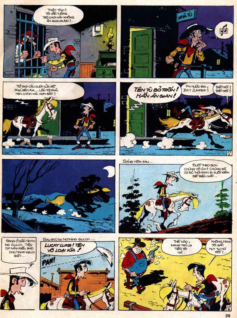 Lucky Luke tap 18 - ki si ao trang trang 37