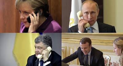 """Телефонні переговори """"нормандської четвірки"""" закінчилися нічим"""
