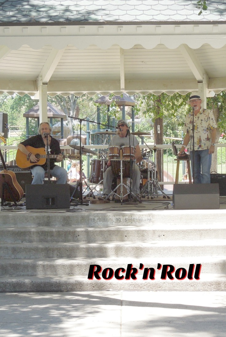 Rock'n'Roll at Wedding and at Day in the Shade