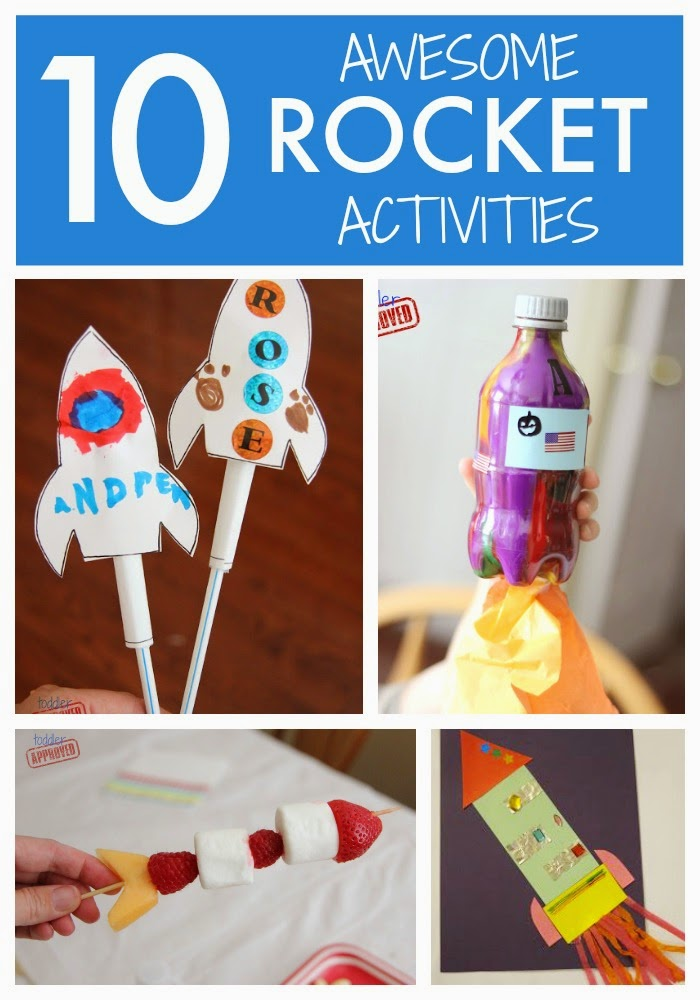 Toddler Approved!: 10 Cool Rocket Activities for Kids