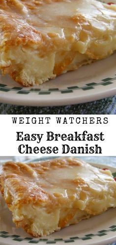 Easy Breakfast Cheese Danish