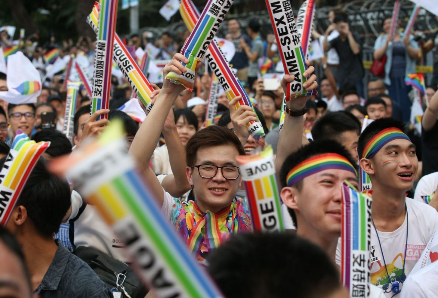 TAIWAN; FIRST ASIAN NATION TO LEGALIZE SAME-SEX UNIONS ...