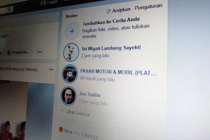 2 Cara Download Facebook Stories di Android