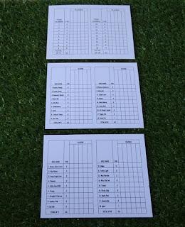 Goony Golf of Spring Lake Park scorecards