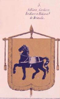 Blason des cordeliers d'Issoire