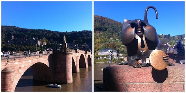 Alte Brücke em Heidelberg