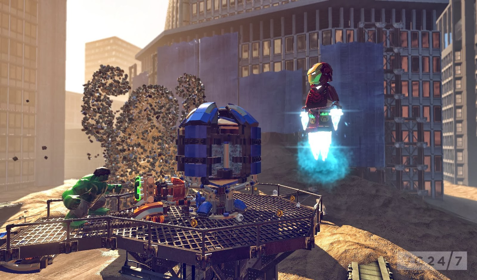 Download now LEGO MARVEL Super Heroes
