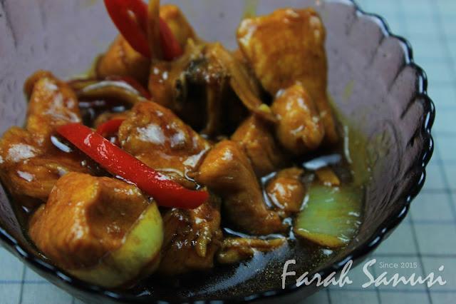 Resepi Ayam Masak Halia Senang