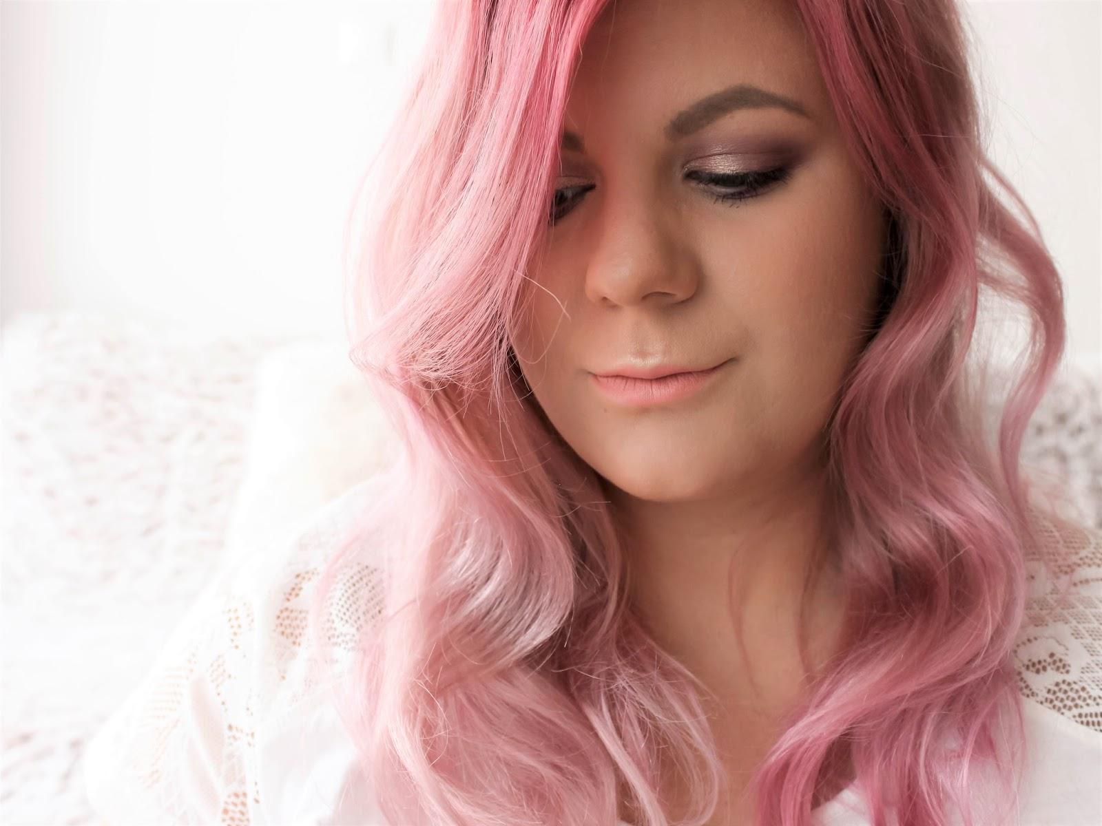 maria nila růžová maska na vlasy