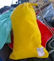 doudou pouch sac transport bandoulière LLA ling ling d'amour portage maxi-taï sunflower