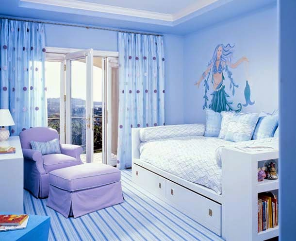 Fabulous Decor Ideas 5 Beautiful And Awesome Paint Color Decorating Ideas For Girls Room
