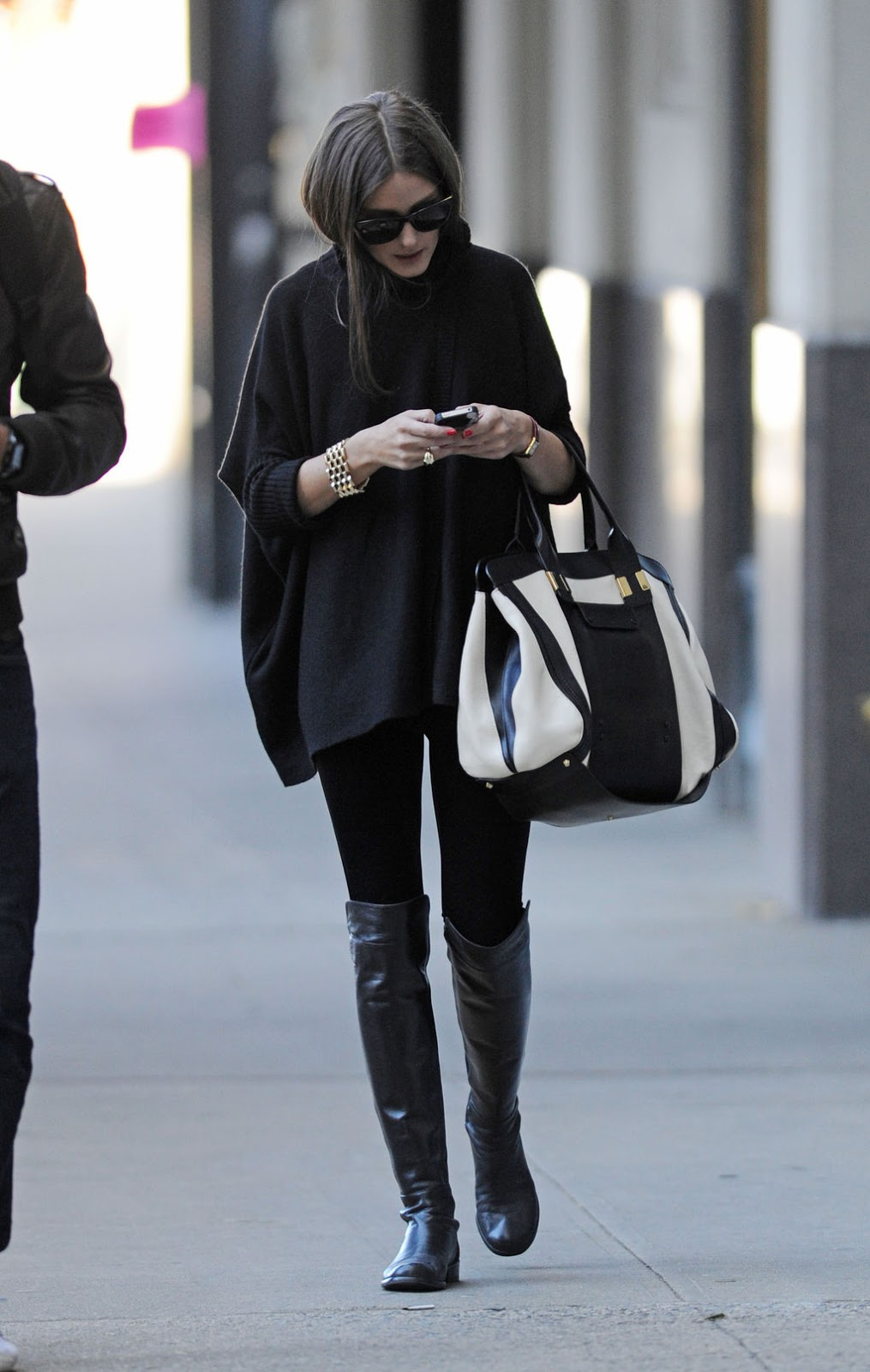 outstanding black dress outfit for winter 13