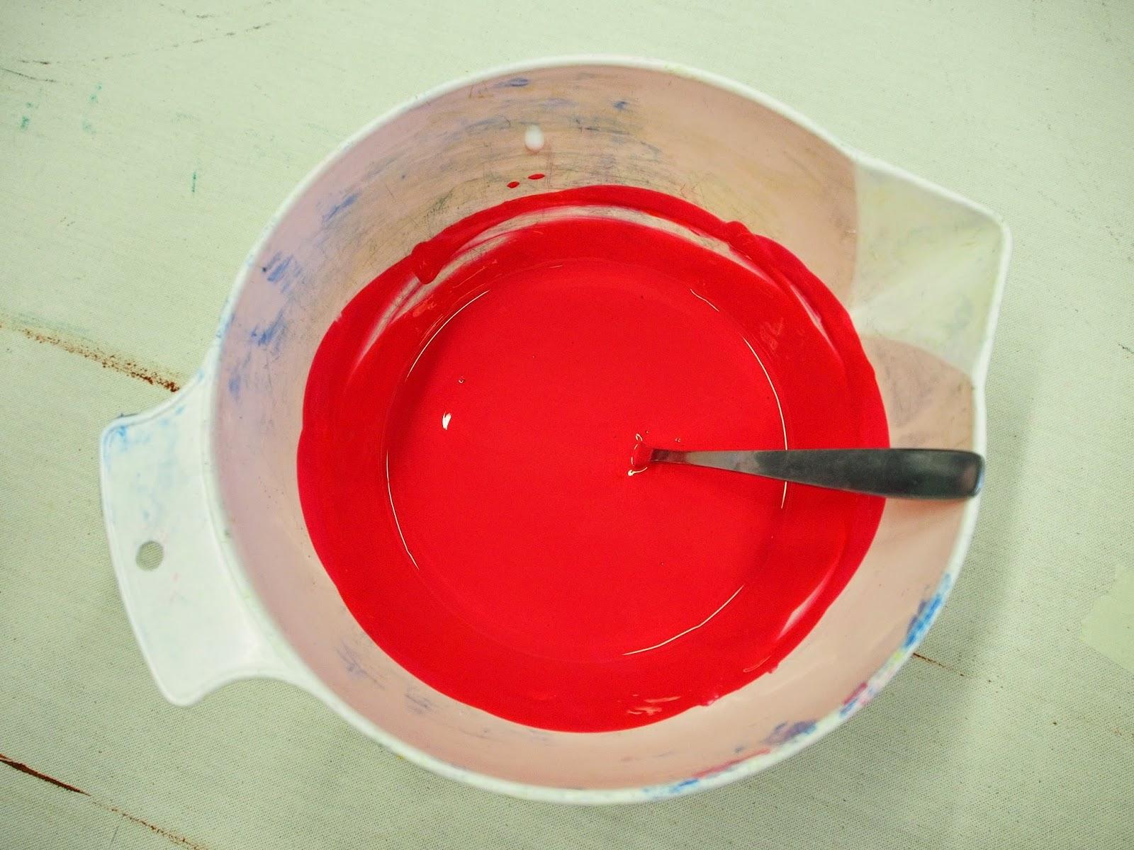 värjäys pigmenttiväreillä ohje