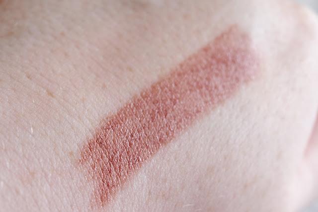 nude lipstick hand swatch
