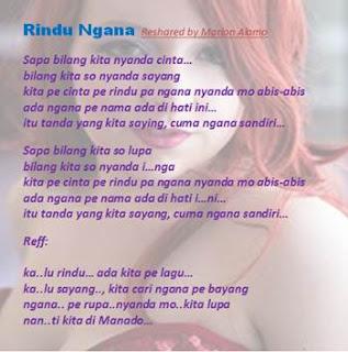 Rindu Ngana