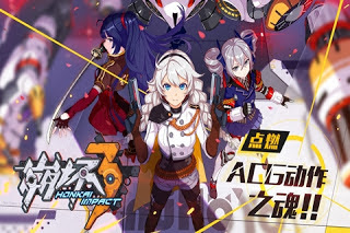 Anime Honkai Impact 3 MOD Unlimited money