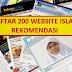 ::: DAFTAR 200 WEBSITE ISLAM REKOMENDASI... UMAT ISLAM HARUS UTAMAKAN MEMBACA WEB BERITA ISLAM :::
