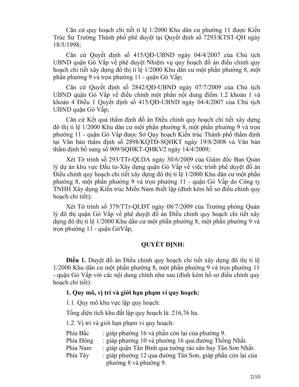 Quyết định số 2871/QĐ-UBND