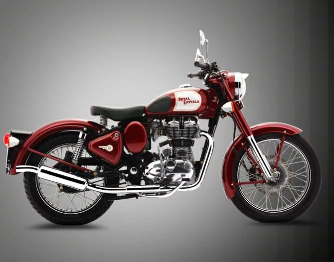 Bike: Royal Enfield Bullet Classic 350