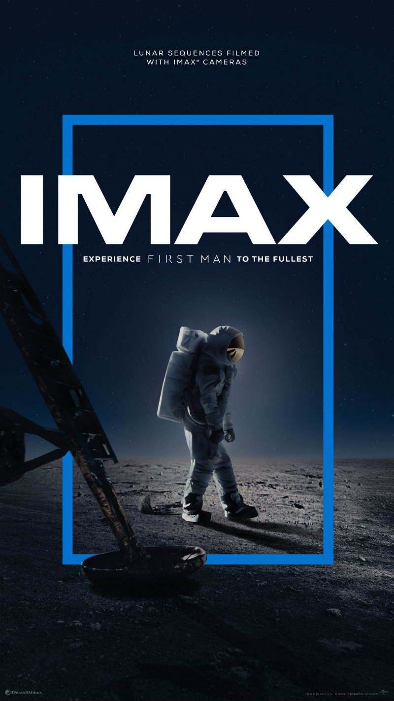 first man imax poster
