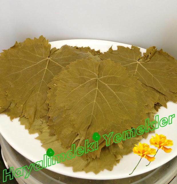 üzüm yaprağı (asma) salamurası nasil yapilir