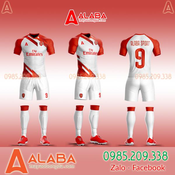 Áo CLB Arsenal tự thiết kế mã ARB AR04 đẹp