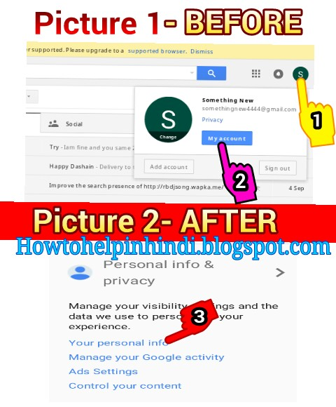 how to search email by name in gmail