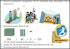 Download Soal UTS Kelas 2 SD Kurikulum 2013 Revisi Semester 1