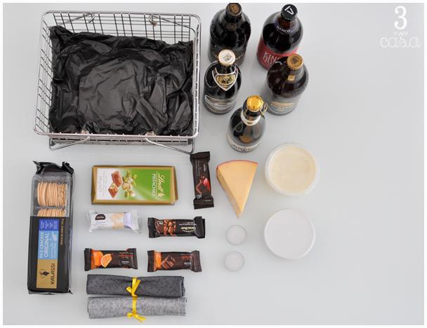 Populares Presentes criativos para namorado: cesta de cervejas UI07