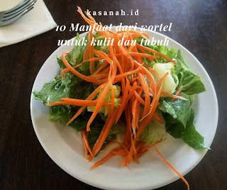 manfaat wortel untuk kulit