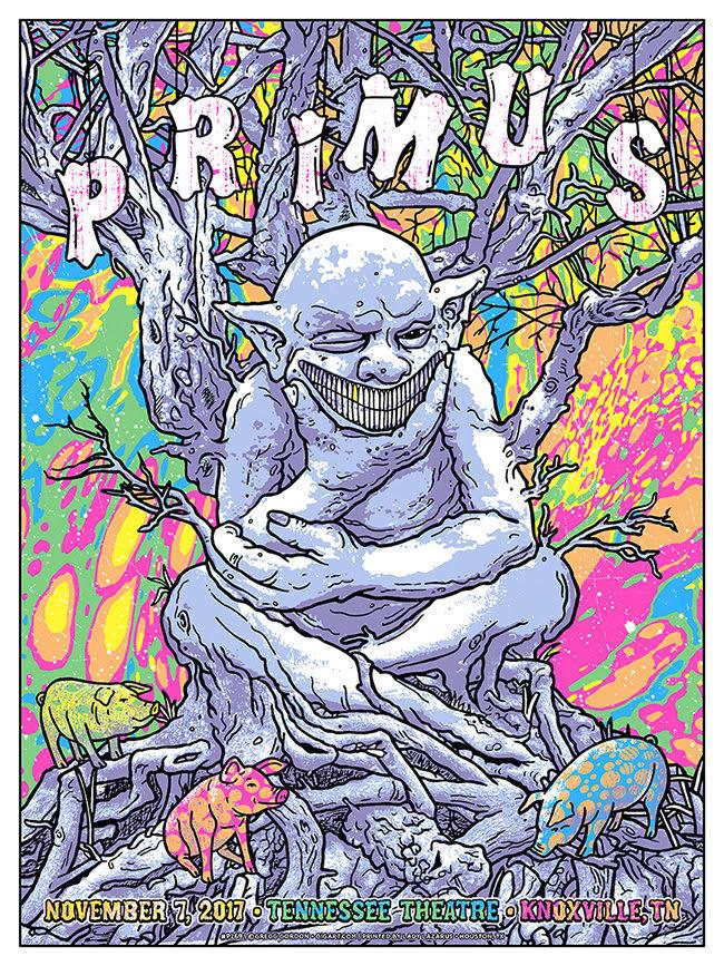 Primus The Ambushing The Storm Tour November