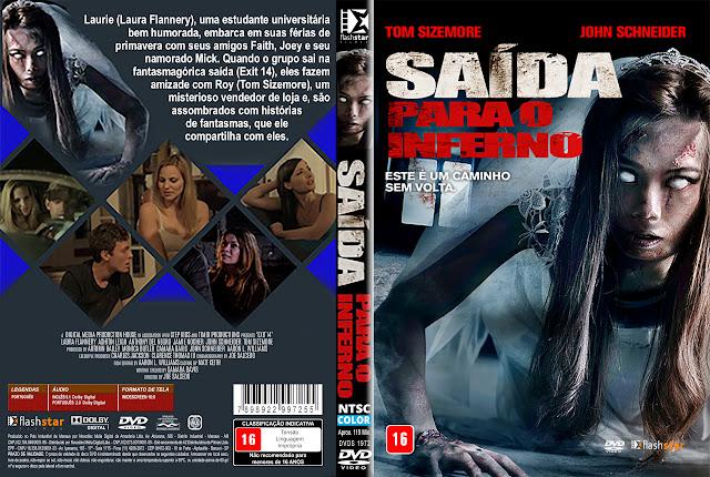 Capa DVD Saída Para o Inferno [Exclusiva]