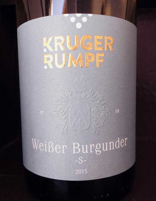 Weißburgunder S aus dem Weingut Kruger-Rumpf an der Nahe