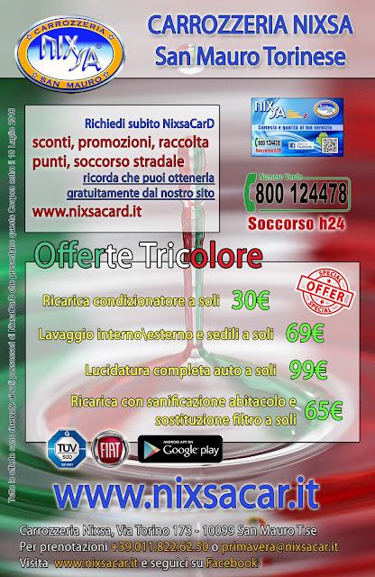 Approfitta delle offerte Tricolore Nixsa!
