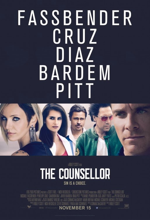The Counselor movie poster