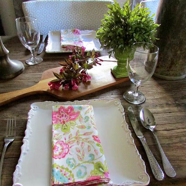 Table for 4 Rustic Style