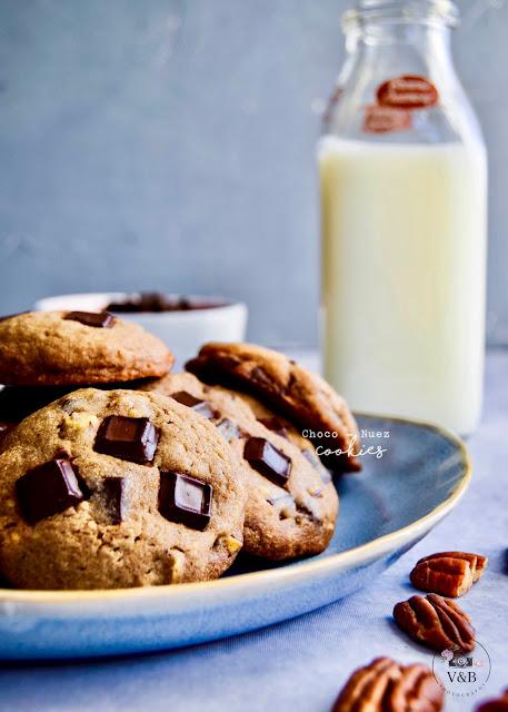 choco nuez cookies
