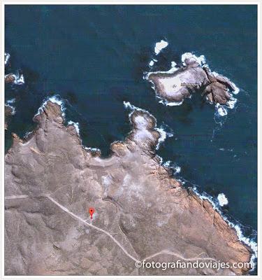 Isla Moreno en la Reserva faunística de Cabo Dos Bahías en Argentina Patagonia