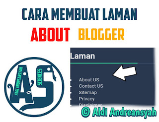 Laman About Blog