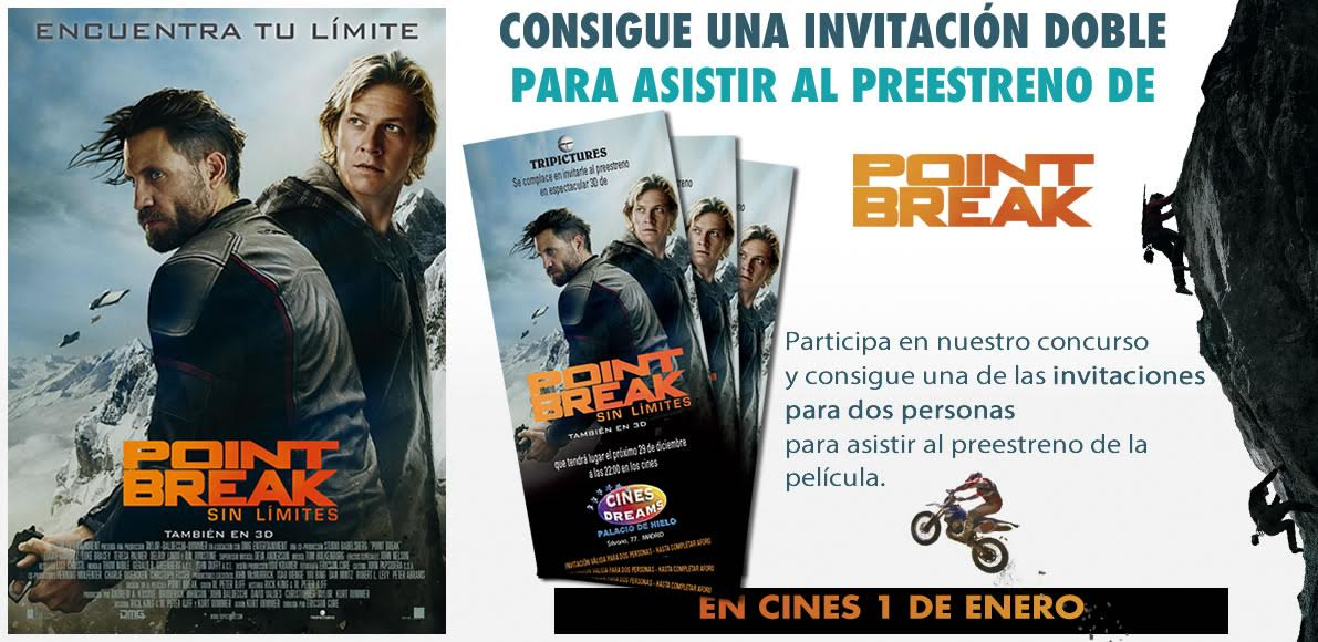 invitaciones point break