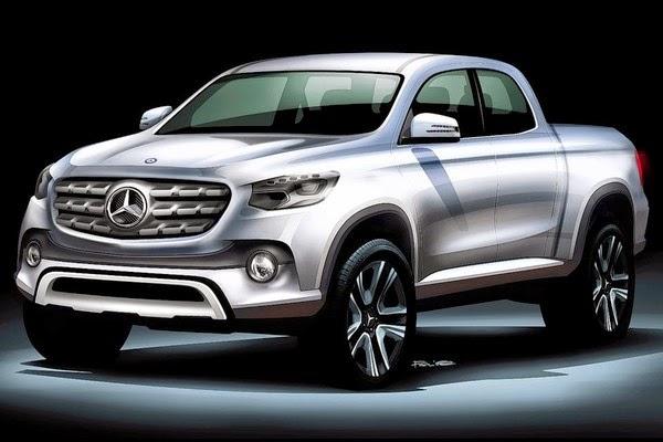 новый пикап Mercedes-Benz