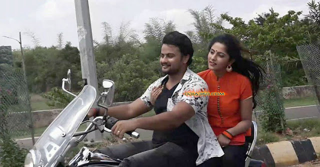 Pyar Alaga Prakara Odia Movie Shooting Set Jhilik and Jyoti Pics
